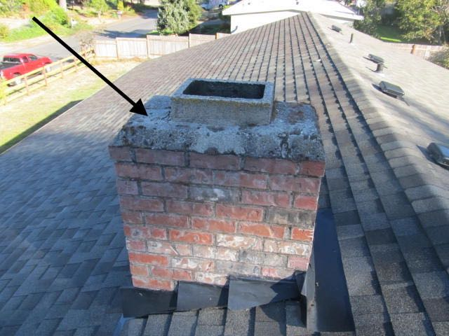 Mortar chimney cap