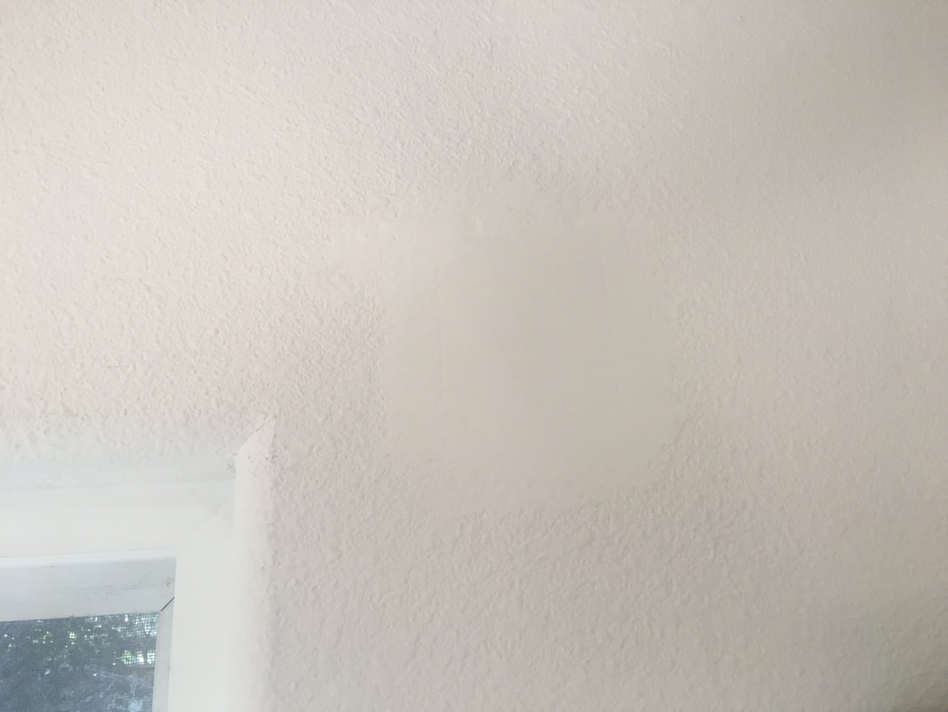 Finished drywall repair